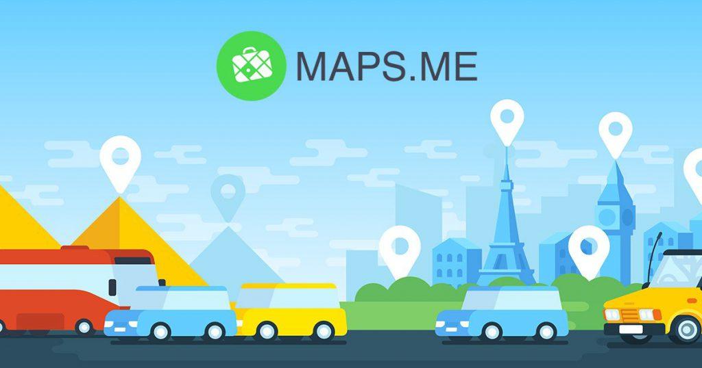 Maps.me - En İyi Seyahat Uygulamaları