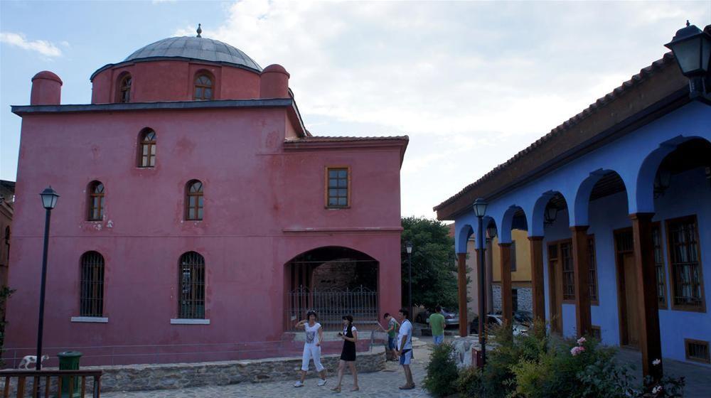 Halil Bey Camii -Kavala Gezilecek Yerler