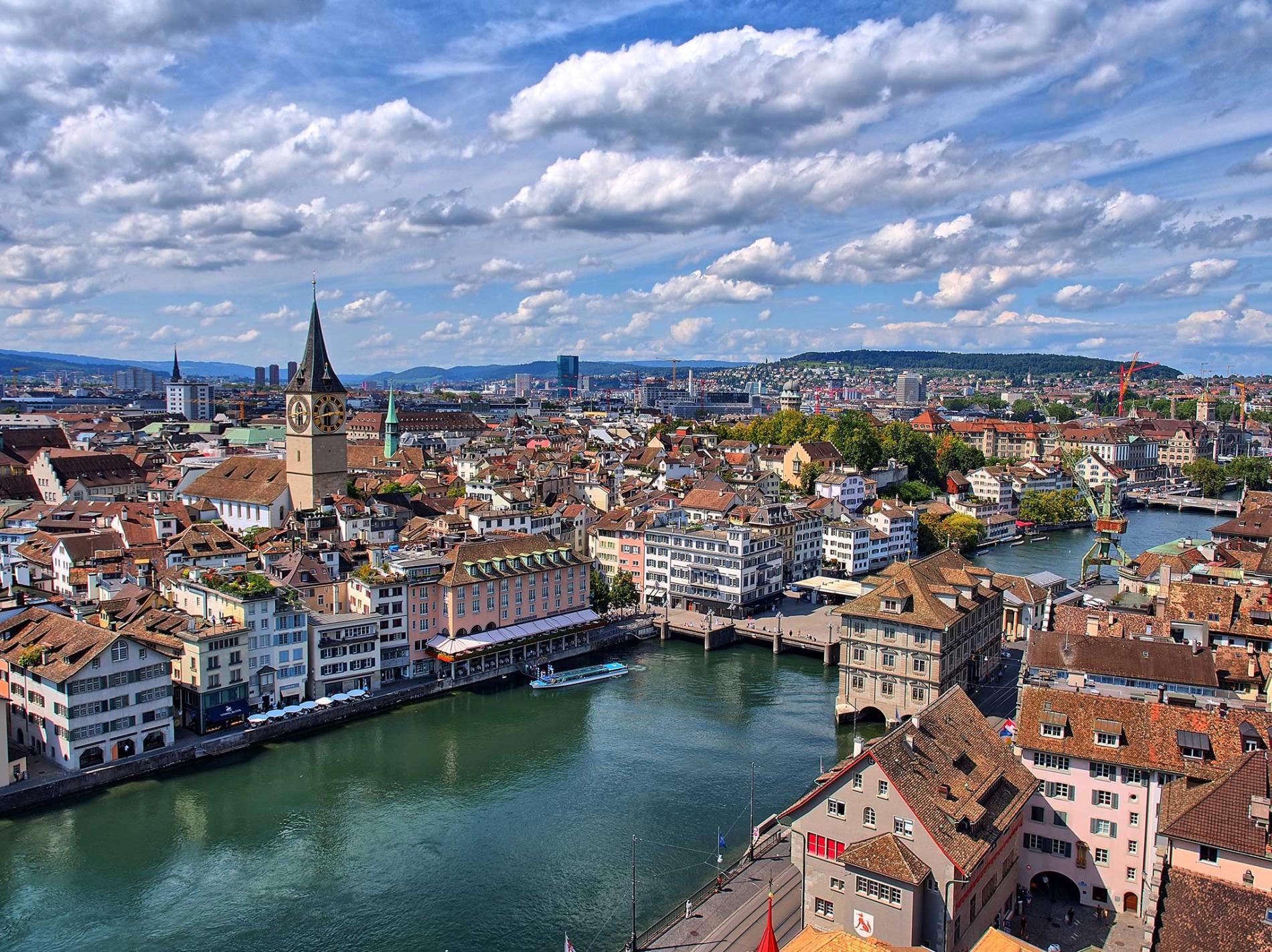 Zürih Gezilecek Yerler : Medeniyetin Başkenti