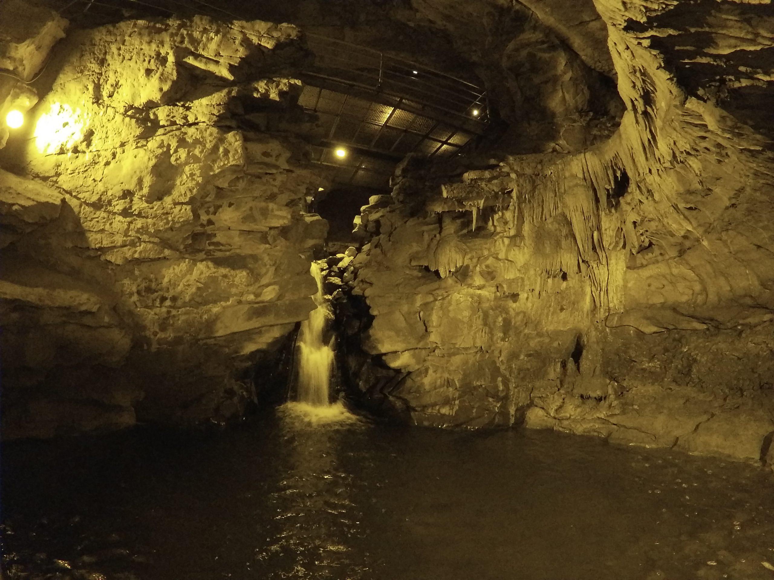 Çal Mağarası gölet alanı