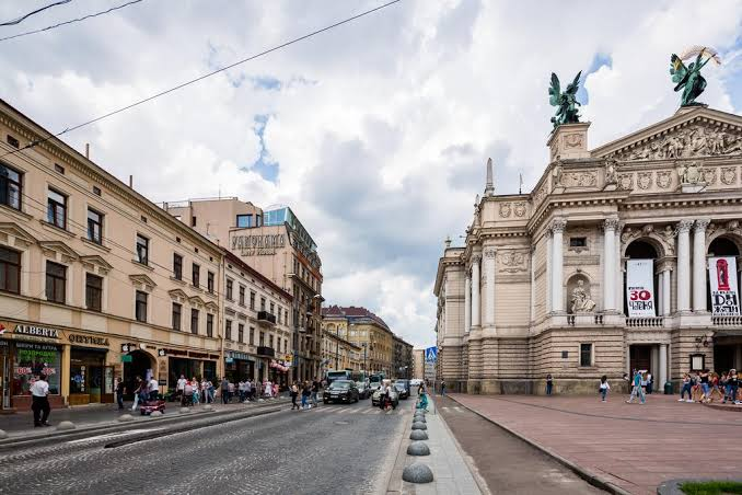 Prospekt Svobody - Lviv'de Nerede Kalınır